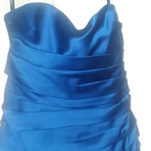 Alfred Angelo Royal Blue Prom Dress
